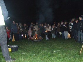 Carols in the orchard